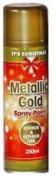 ** Metallic Interior & Exterior Spray Paint Gold 250ml New ** Christmas