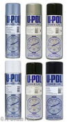 Upol Alloy Silver Grey Primer Filler Gloss Matt Satin Black High Clear Lacquer