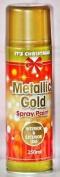 Gold Metallic Spray Paint 250ml Decorative Interior & Exterior Paint