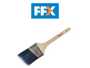 Axus Decor Axu/bba3 Blue Pro Precision Angled Cutter Paint Brush 3in - 76mm
