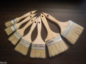 Profesional Paint Brush Natural Paint Bristle With Wooden Beech Handle