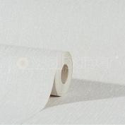 Debona Crystal Plain White Wallpaper - 8999