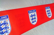 Official Licenced England Red Emblem Football Wallpaper Border