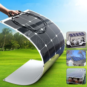 100w 18v Semi Flexible Energy Mono Solar Panel Battery Charger For Boat Caravan