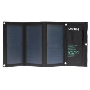 20w Foldable Solar Panel Portable Usb Charging Kit Camping By Pk Green