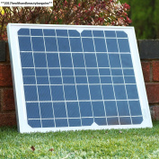 10w Solar Panel With Cable For 12v Battery, Caravan, Boat, Shed, Car,...