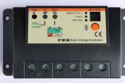 20a 12v / 24v Solar Charge Regulator Controller For Solar Panels Battery