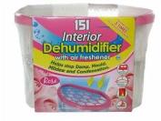 Interior Dehumidifer With Air Freshener Rose