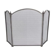 Pewter Effect Folding Screen, Home, Fireplace And Accessories, New