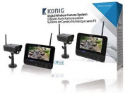 Konig Digital Advanced 2.4 Ghz Wireless Camera System With 18cm Monitor