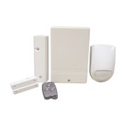 Wireless Convertor Kit Wired Alarm System 4 Detector Zones New