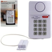 Security Keypad Alarm System - Comes With 3 Setting Instant / Delay / Chime - -