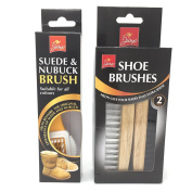 Jump Suede & Nubuck Brush and Jump Shoe Brushes x 2. Clean your suede or nubuch shoes plus shoe shine brush.