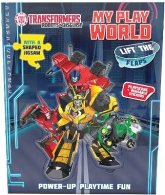 Transformers Robots in Disguise My Play World [Board book]