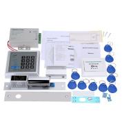 Kkmoon Full Set Rfid Door Access Control System Kit Door Security Entry Kit Host