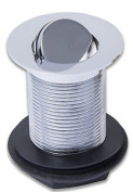 New 3.2cm Unslotted Turn Over Basin Waste - Chrome - 5 Yr