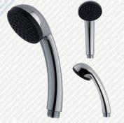 Shower Head Handset Chrome Single Function *replaces Mira Grohe Triton Aqualisa*