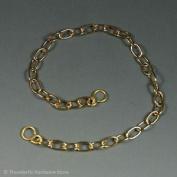 "Bath Chain Brass Links 450mm 18"" Long Plug Chain"