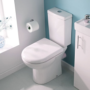 Short Projection Cloakroom Compact Small Toilet Wc Pan Cistern Soft Close Seat