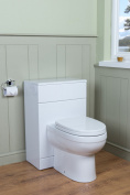 Absolute Luxury 500 Back To Wall Unit - White - Includes Toilet