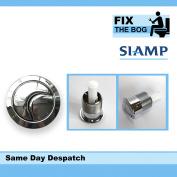 Siamp Skipper 45 Chrome Plated Dual Flush Button