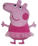 Character world Peppa Pig Ballerina Embroidered Shaped Cushion