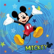 Mickey Mouse Blue Stripe Cushion By Besttrend