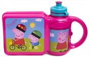 Peppa Pig Box And 400ml Bottle Combo Set