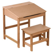 Bonsoni Childrens Mdf Desk And Stool By Protege Homeware
