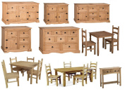 Mercers Furniture® Corona Dining Table Sideboard Chest Corner Display Console