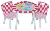 Kidsaw Patisserie Table And Chairs 50 X 50 X 45 Cm Multi-colour
