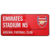 Arsenal Fc Official Emirates Stadium Football Crest Street Sign