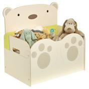 Bear Hug Mdf Toy Box New Childrens Storage Furniture Bedroom 519sng01e