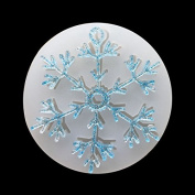 RUNGAO DIY Silicone Mould Silicon Resin Casting Snowflake Mould Jewellery Mould DIY Craft Making