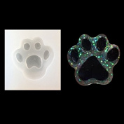 RUNGAO DIY Silicone Mould Silicon Resin Casting Dog Paw Mould Jewellery Mould DIY Craft Making