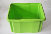 "Keeeper Turn Around/Stacking Box ""Emil"" 24L in Green"