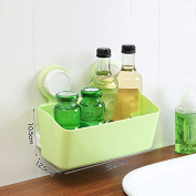 Free bathroom wall rack on the perforated toilet desk wall hanging box,B,Green Section