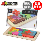 Gigamic Giga Mick Katamino catamino wooden puzzle brain training educational toys 200102 / 152501 board game