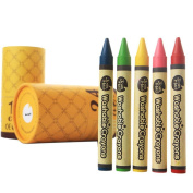 Eco-friendly Boxed Washable Crayons Box Organiser Crayons Paint Washable Non For
