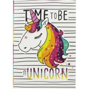 A5 Flexi Time To Be A Unicorn Notebook, Thank You Teacher,