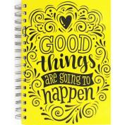 A5 Wiro Good Things Notebook, Thank You Teacher,