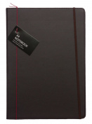 Whsmith Globetrotter A4 Plain Case Bound Notebook With Page Marker