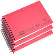 Feint Ruled Lined Revision Card Record Card Spiral Notebook