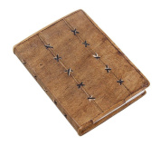 Leather Blank Journal Personal Diary Unlined Eco Friendly Writing Notebook Book