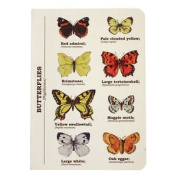 Butterfly Ecologie A6 Journal Stationery Pad Book Jotter Papilones Red Admiral
