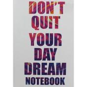 A4 Case Bound Day Dream Plain Notebook, Thank You Teacher,