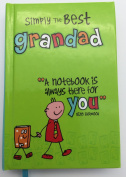 Simply The Best Grandad A7 Notebook Birthday Fathers Day Birthday Christmas
