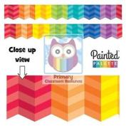 Painted Palette Rainbow Herringbone Border - Classroom Display Border