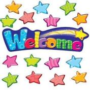 Welcome Stars Bulletin Board Classroom Display Banner Set