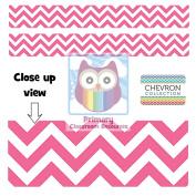 Pink Chevron Display Border - Classroom Display Border